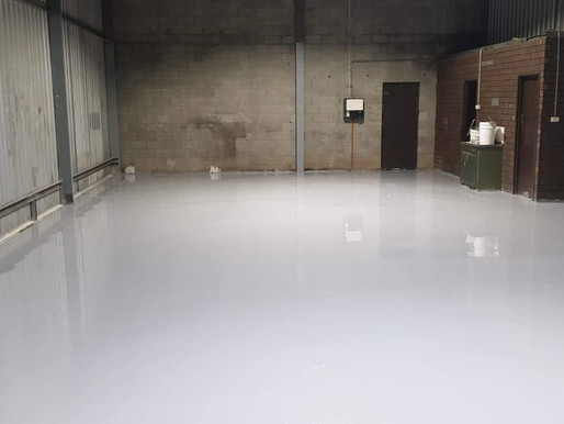 Protecting a Concrete Surface With Polyaspartic Coating