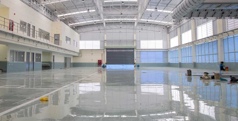 Applications & Benefits of Commercial Epoxy Flooring