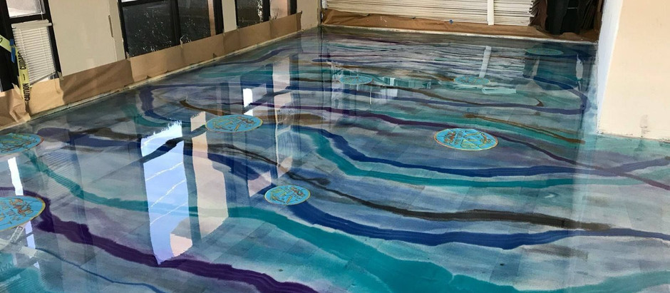 Getting Creative with Epoxy Flooring
