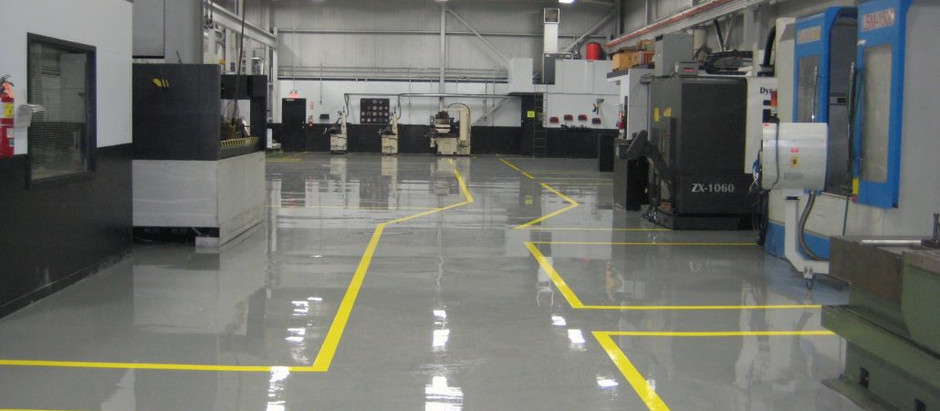 Benefits of Epoxy Flooring for Industrial Purposes