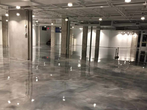 Benefits of a Concrete Floor Coating
