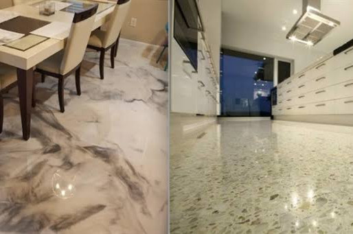 Epoxy Floors vs Polished Concrete