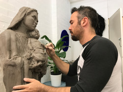 clay sculpting