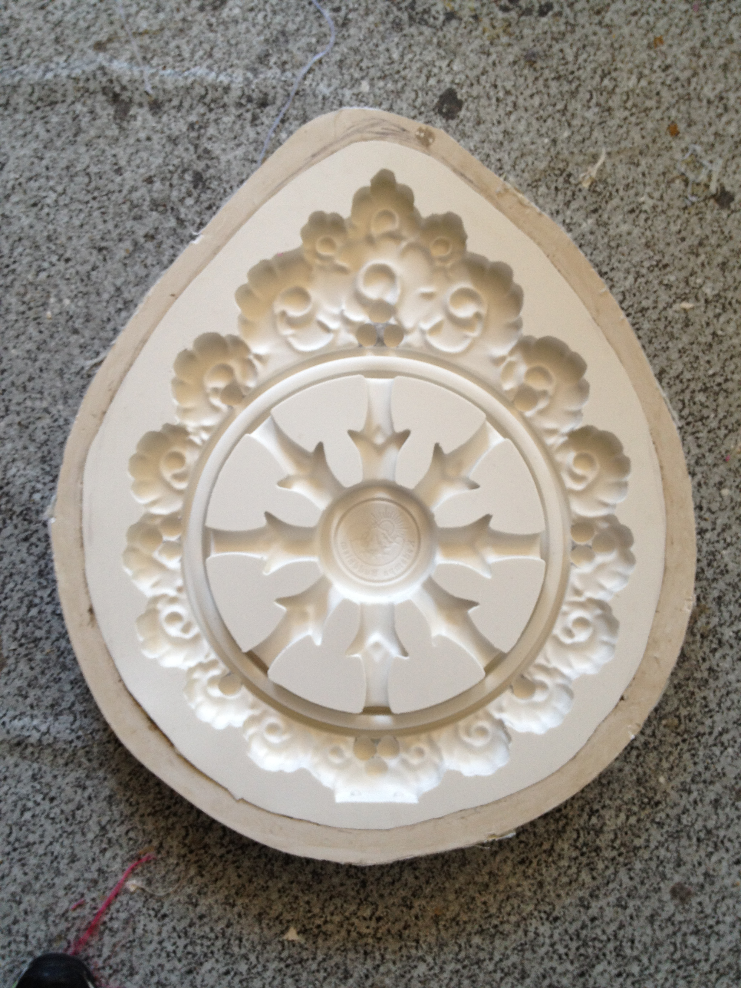 Buddhist Temple Logo mould