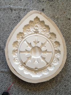 Buddhist Temple Logo mould
