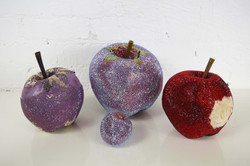 Swarovski crystalised prop apples
