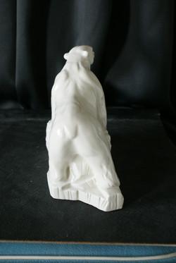 Porcelain Bear Statue