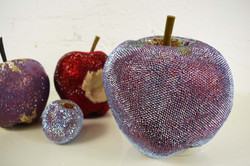 Swarovski crystalised prop apples