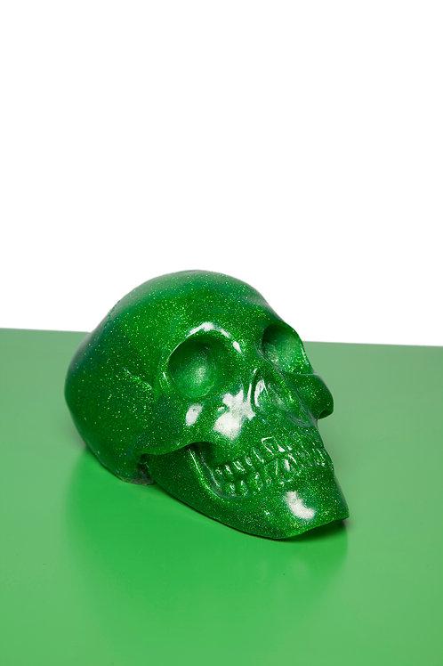 Glitter Skull Lamp
