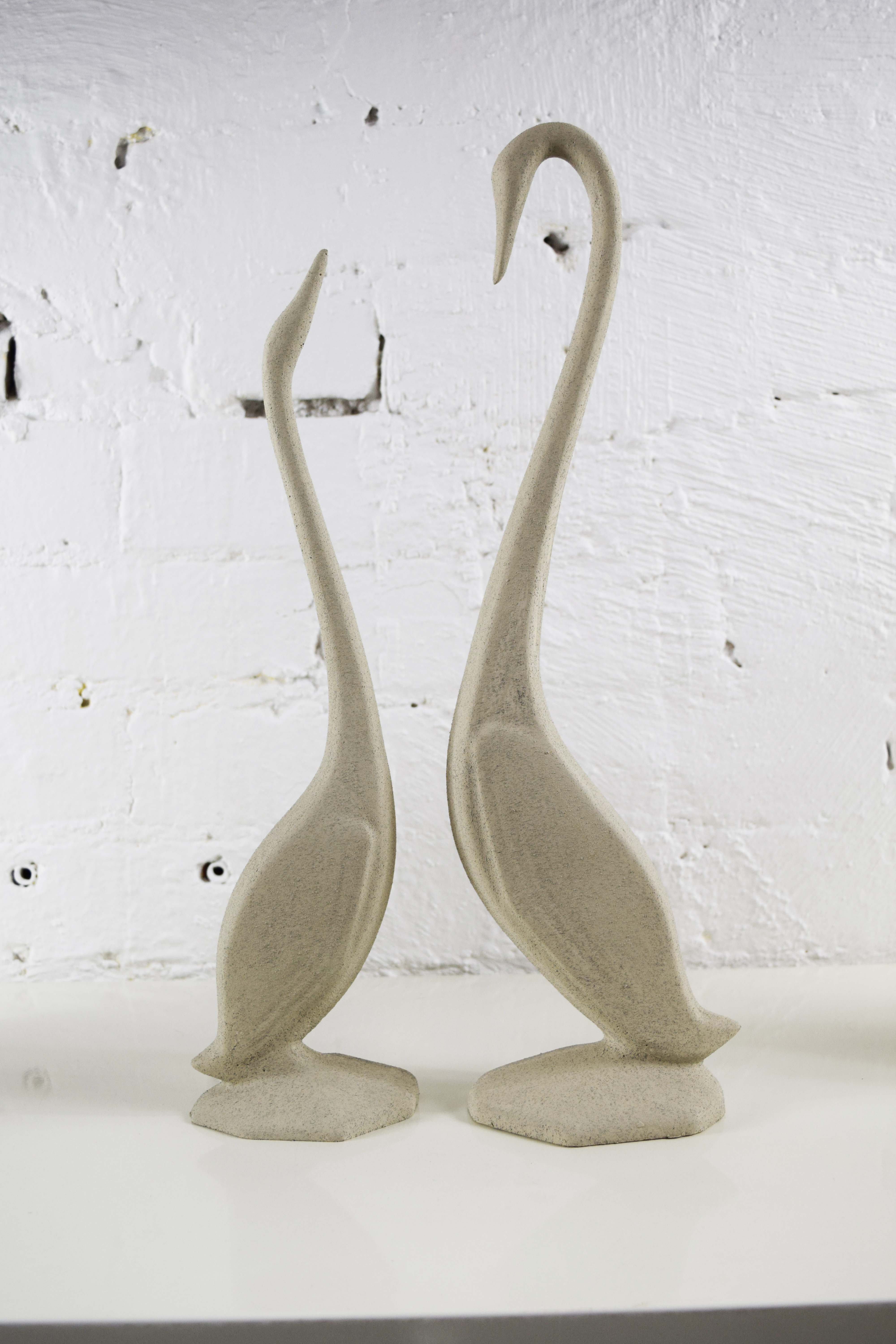 swans for instore display