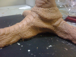 Emu Foot scupt - Christopher Boots