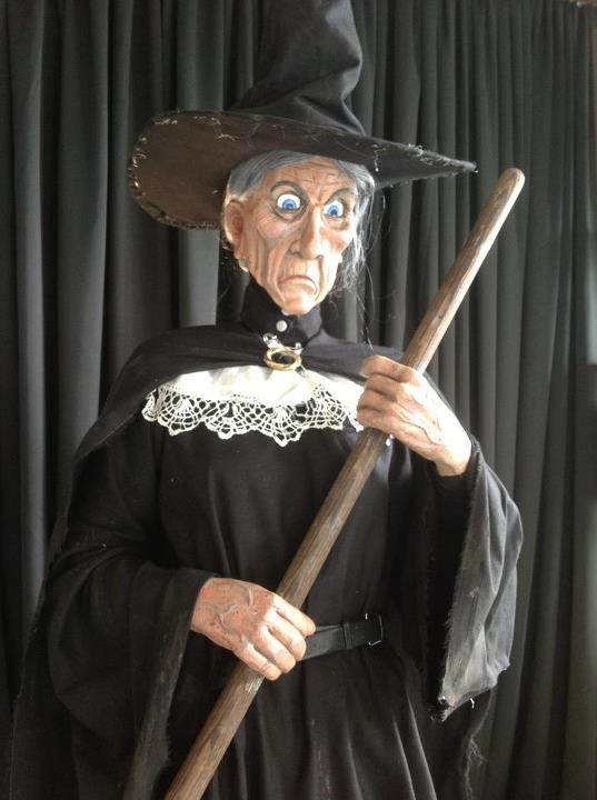 Granny Weatherwax - Shopfront prop