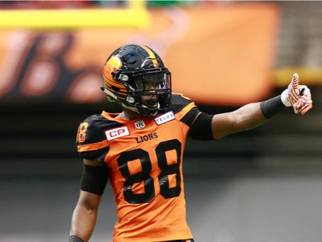 BC Lions SHAQ JOHNSON AGREE TO CONTRACT EXTENSION