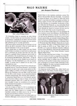Entretien jazz dixie swing 2