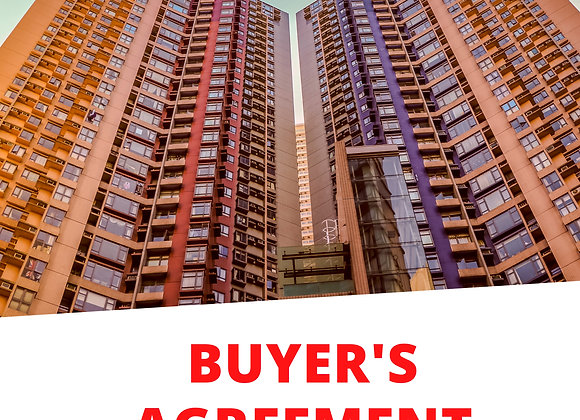 Buyer's Agreement