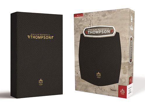 Biblia de Cadena Thompson RV 1960, Negro, Imitacion Piel