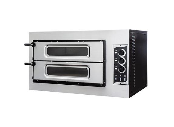 Pizza peć BASIC 2/50 sa staklom i unutrarnjom rasvjetom /3Termostata