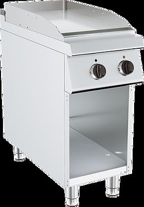 Elektični roštilj ravna ploča na otvorenom postolju