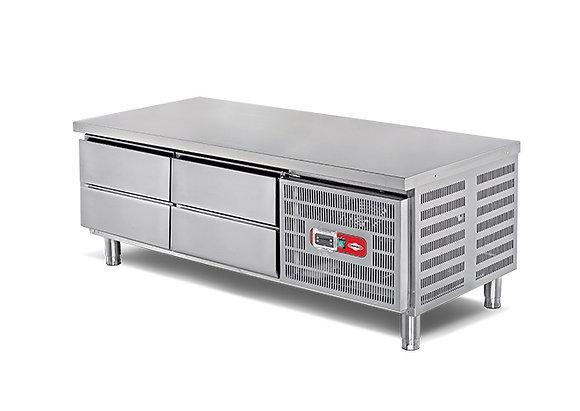 Hladnjak podpultni 4 ladice (1600x700x550 mm)