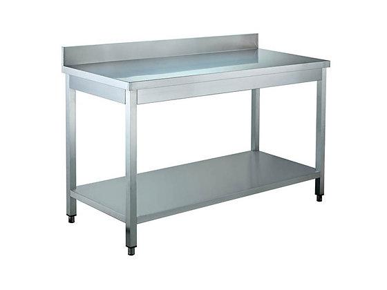 Radni stol s zaštitom zida 600x600
