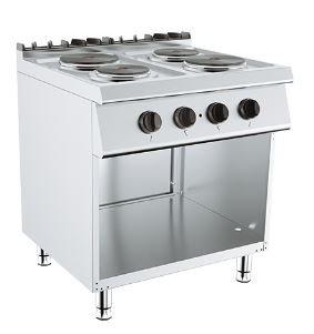 Električno kuhalo 4 ploče na otvorenom postolju