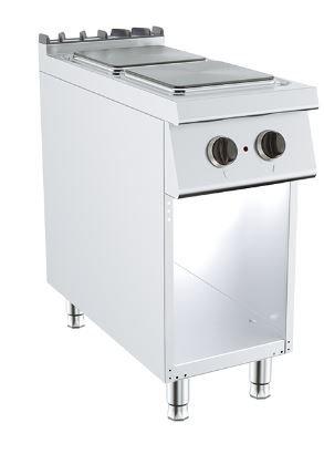 Električno kuhalo 2 ploče na otvorenom postolju