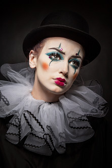 'Weary Clown' by Brian McClure - Accepted
