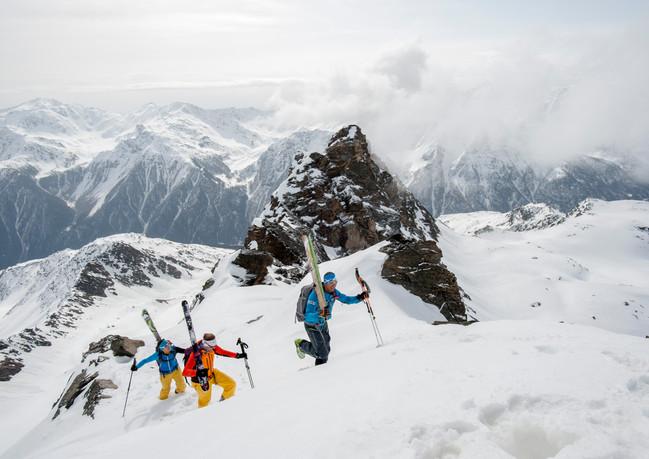 Gipfelgrat zur Laaser Spitze ...