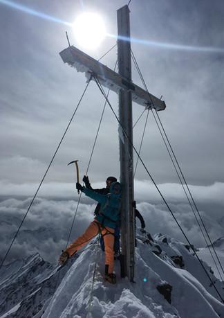 Bergheil vom Gran Zebru ...
