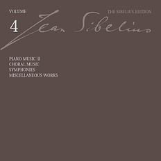 The Sibelius Edition Jean Sibelius CD King International シベリウス大全集