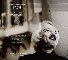 JS Bach Sacred Masterworks BCJ Masaaki Suzuki King International バッハ 宗教曲 mitografico