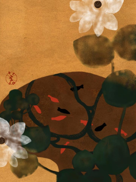 357 lotus pond