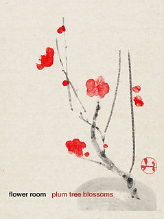 Hidetoshi Mito drawing 美登英利 ドローイング mitografico 紅梅 plum tree blossoms