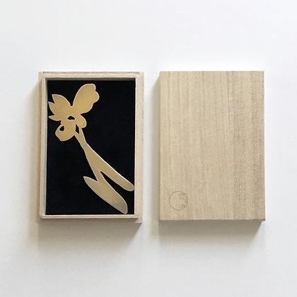 彫金 燕子花2