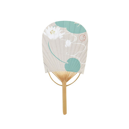 mini koban uchiwa _ water lily