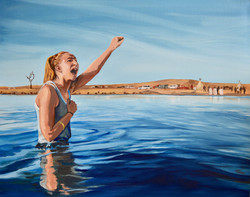 Woman in Water