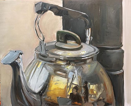 """The Kettle"" oil on Masonite board.jpg T"