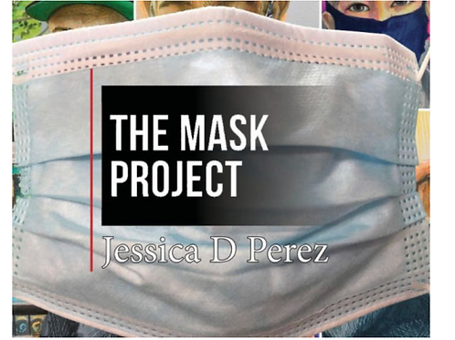 1st edition The Mask Project Book - signed