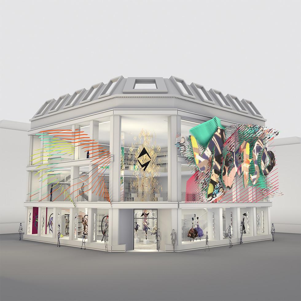Yotso - Fashion House Concept