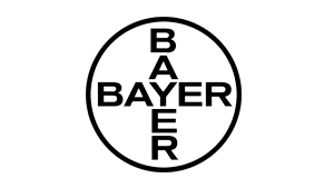 Bayer black and white logo.png