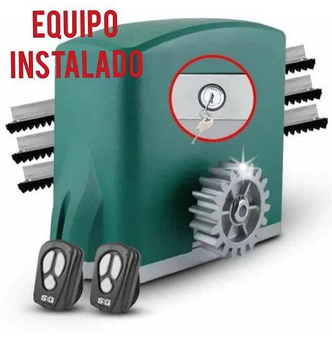Kit  Instalado! Automatizacion Porton Corredizo Classic 500 kg