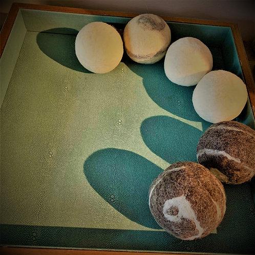 Balles de laine pour sécheuse