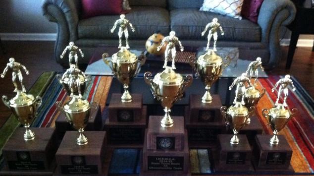 Coaches Association Trophies