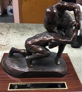 Wabash College Most Valuable Wrestler