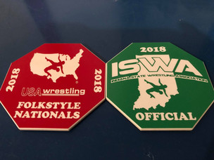 USA Wrestling Referee Flip Disks
