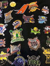 Custom Softball Pins