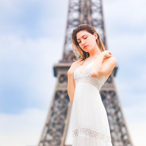 Jessie Prohaska in Paris photographed by Michael Cuffe
