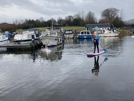Auchinstarry Marina - Paddleboarding Women Domination