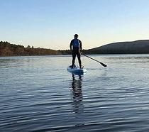 Mike on Loch Lomond