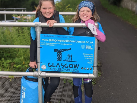"""Glasgow Paddleboarders Co Launches """"Pikes"""" - the wee ones."""
